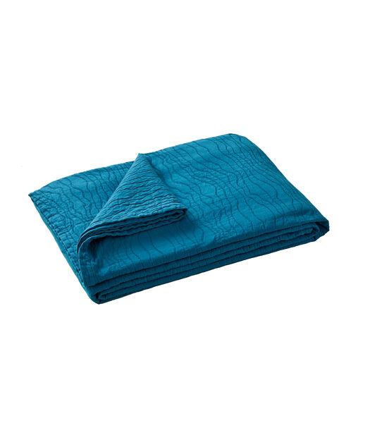RACINES bleu paon - Sprei Piqué