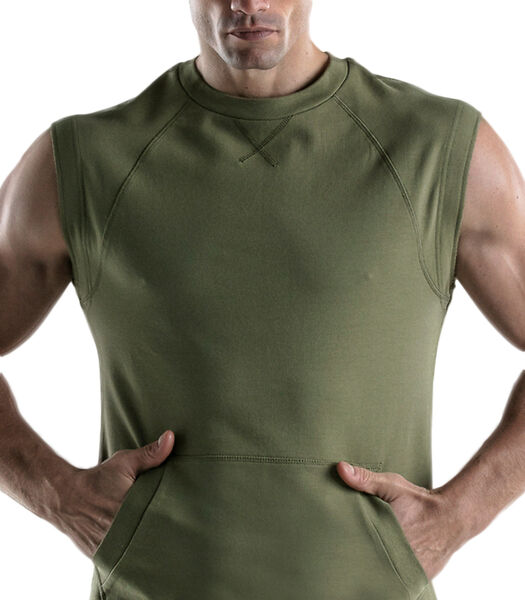 Mouwloos sweatshirt Force