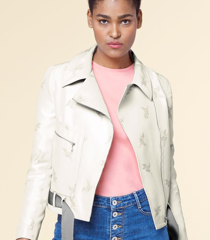 Perfecto jasje met print ESTURBAN image number 0