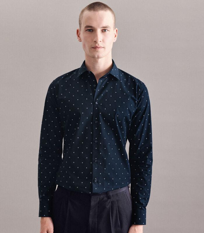 Overhemd X-Slim Fit Lange mouwen Print image number 0