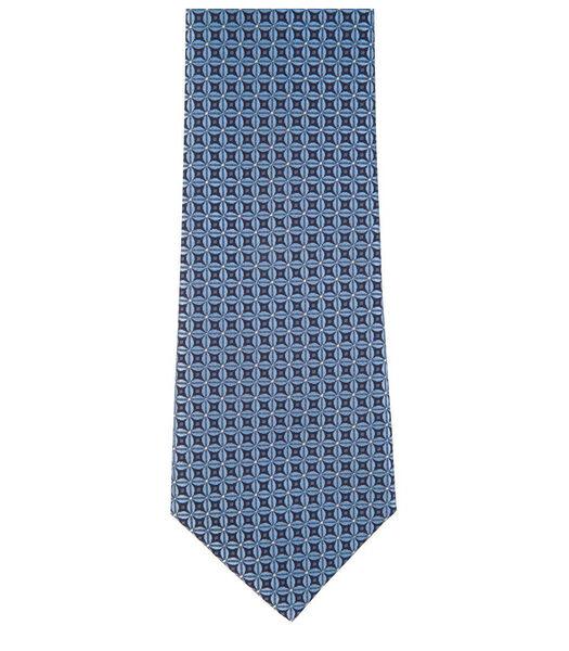 Cravate à motifs en soie