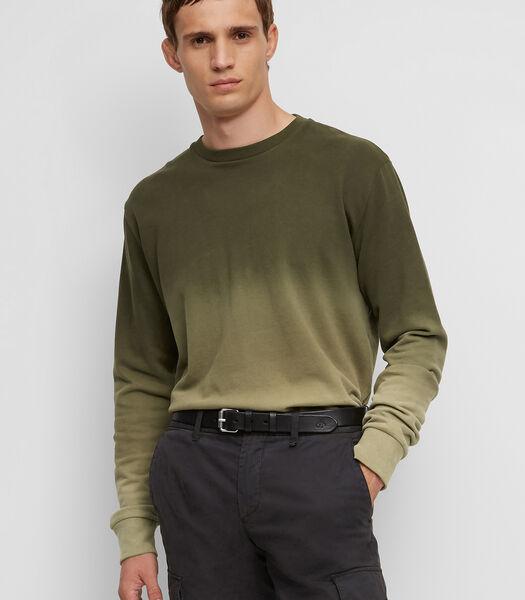 Sweatshirt met casual dip-dye effect