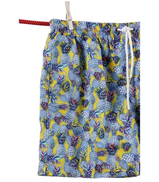 Short de bain ananas - Modèle Ibiza