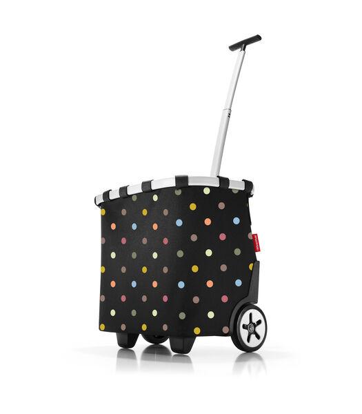 Carrycruiser - Boodschappentrolley - Dots Zwart