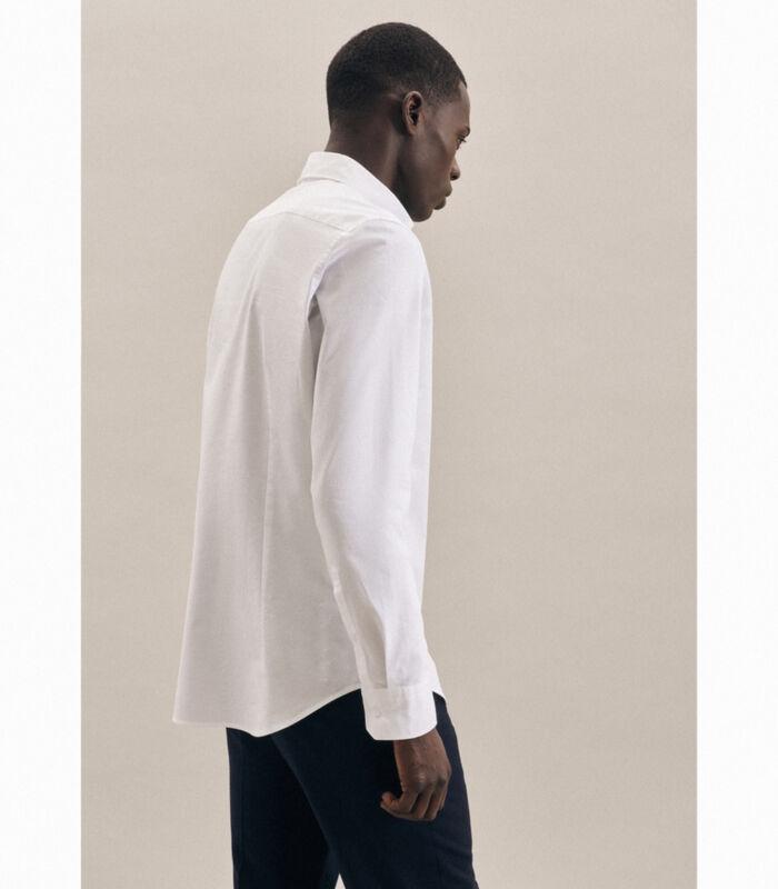 Overhemd Slim Fit Lange arm Uni image number 1