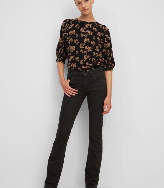 Jeans model NELLA bootcut van een mix met organic cotton