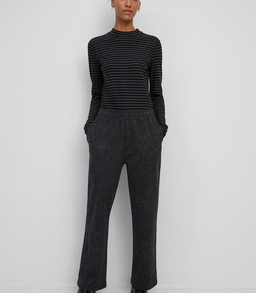 Jersey broek van organic cotton met stretch