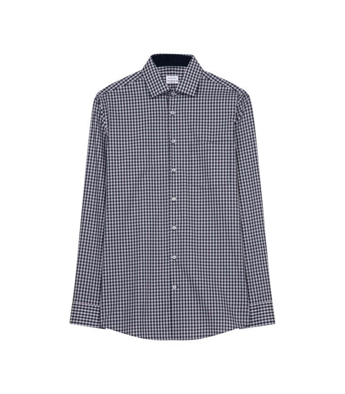 Overhemd Regular Fit Lange mouwen Geruit image number 0