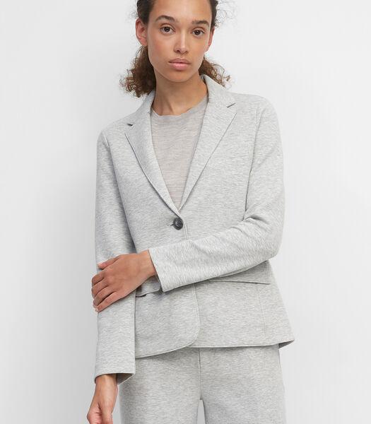 Jersey blazer van interlock-jersey