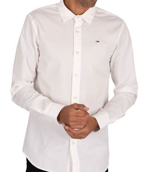 Origineel slim-fit overhemd met stretch