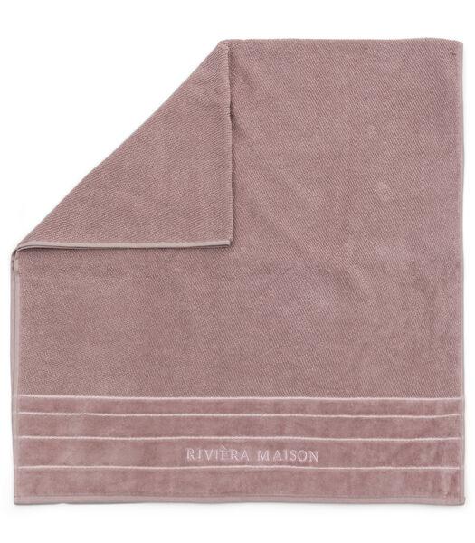 Serviette de bain RM Elegant mauve 140x70