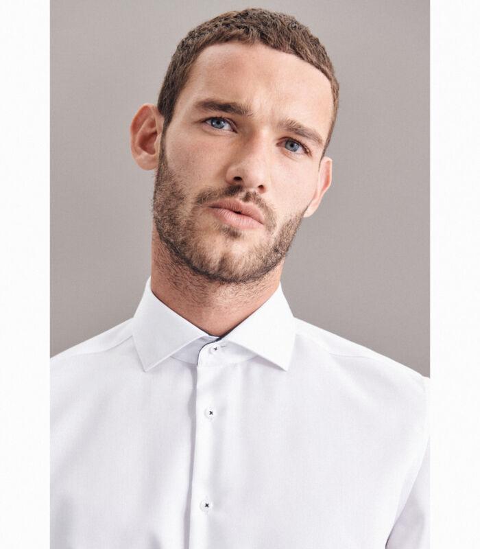 Overhemd X-Slim Fit Lange mouwen Uni image number 2