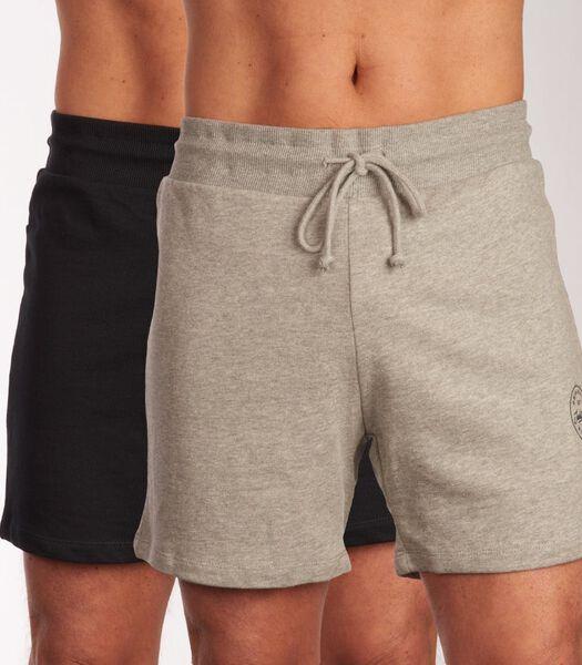 Homewear broek 2 pack jjimore sweat shorts h-xl