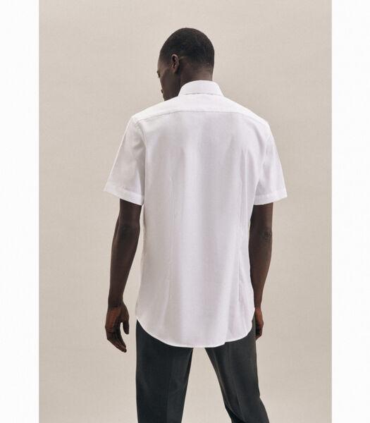 Overhemd Shaped Fit Korte mouwen Uni