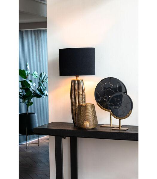 Windlicht Adeta - Goud - Ø22,5x24 cm