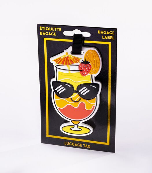 Bagagelabel - Cocktail