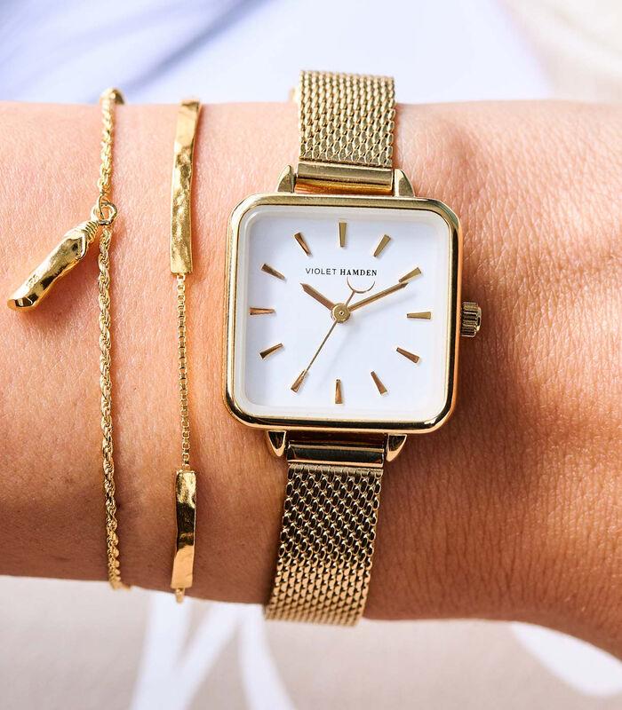 Dawn Horloge goudkleurig VH05011 image number 3