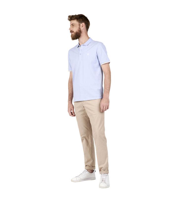 Polo met korte mouwen piqué NICO image number 4