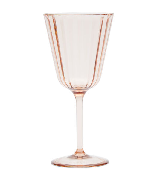 Summer Sunset Wine Glass