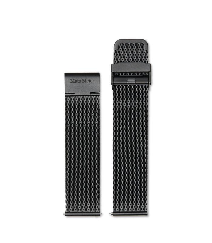 Horlogeband zwart MM40006 image number 0