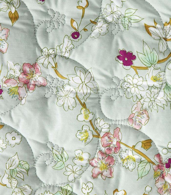Blossom - Gewatteerde sprei perkalkatoen 80 thread count image number 1