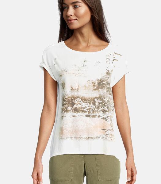 Casual shirt met print