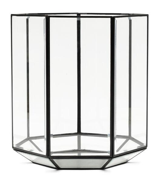 RM French Glass Hurricane black