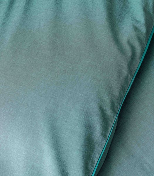 Housse de couette coton chambray - NUIT CHAMBRAY