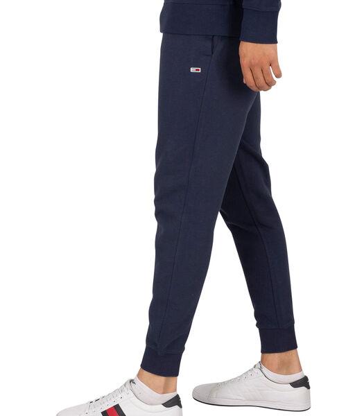 Slanke joggingbroek van fleece