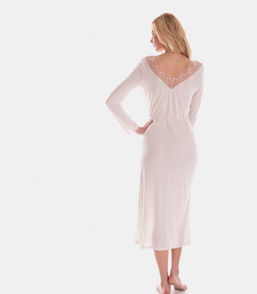 Klara - Lang nachthemd katoenmodal