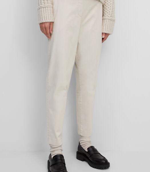 Pantalon style chino en lyocell Tencel™