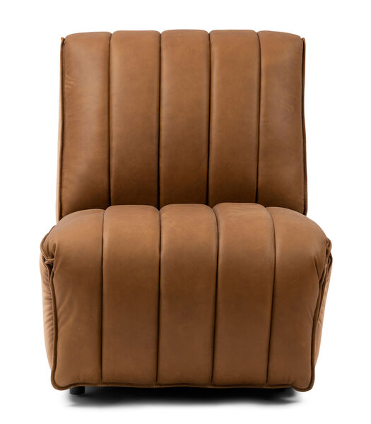 Chaise inclinable Monterey Cognac
