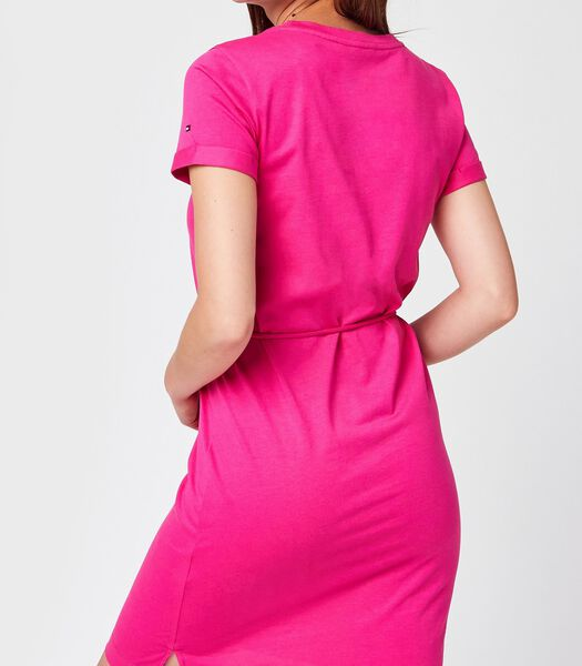 Midi jurken Roze
