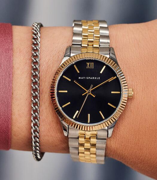 City Chique Horloge zwart MSE006