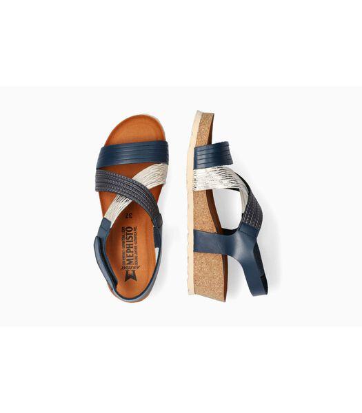 RENZA-Sandales cuir