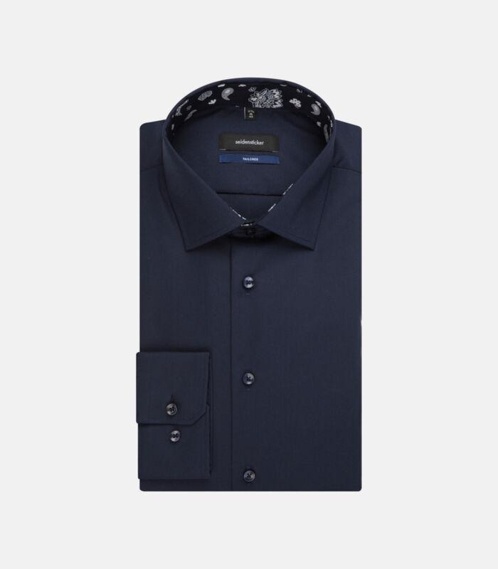Overhemd Shaped Fit Lange mouwen Uni image number 4