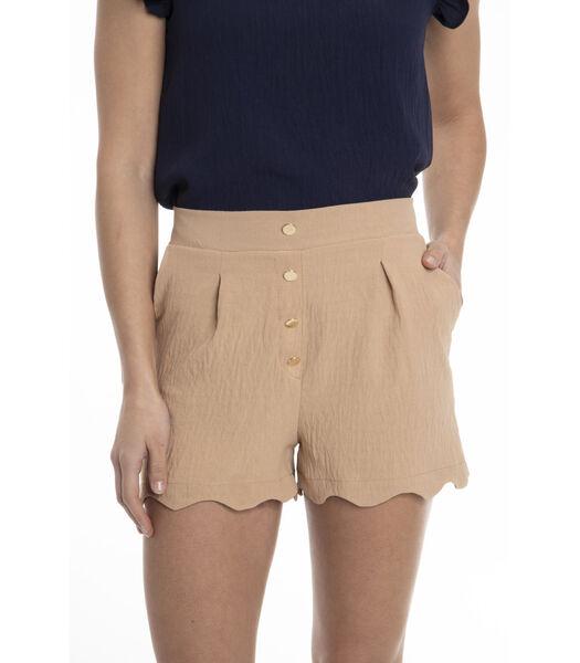 CHRISTINE-Korte broek  hoge taille