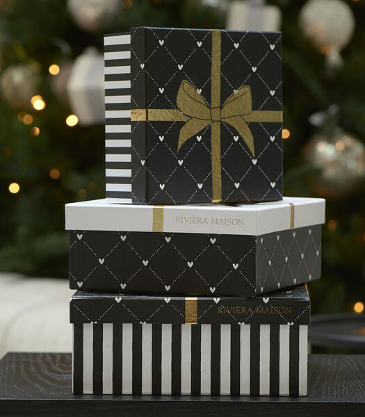 RM Giftbox Square Set of 3 pieces