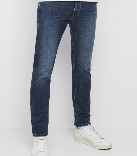 Jeans model VIDAR slim van een elastische katoenmix