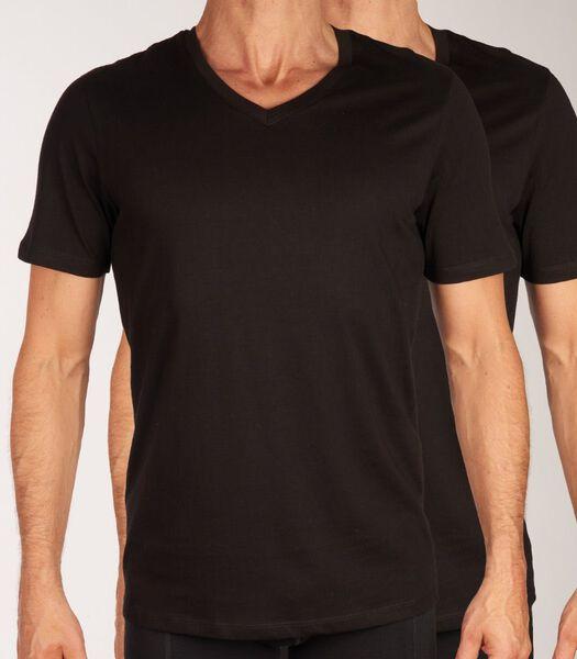 T-shirt v-hals 2 pack jacbasic tee h-s