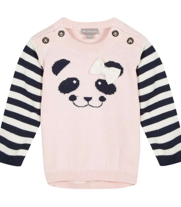 Trui met panda motief image number 0