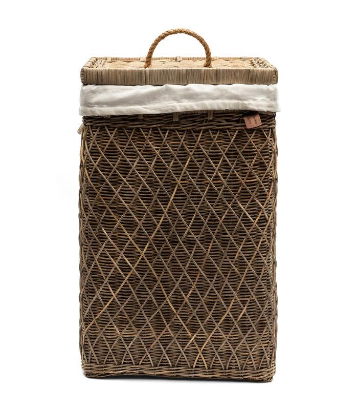 RR Diamond Weave Laundry Basket image number 0