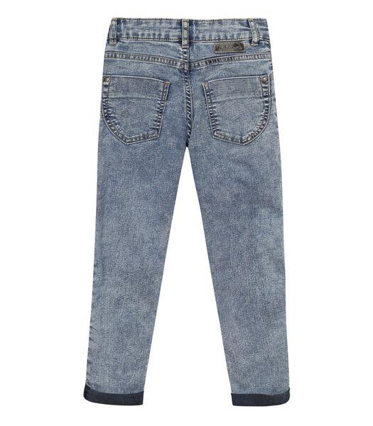 Slim Jeans met badge