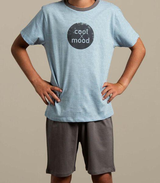 Pyjama pantalon court cool mood j