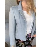 Mooi gecentreerd lichtblauw jasje image number 0