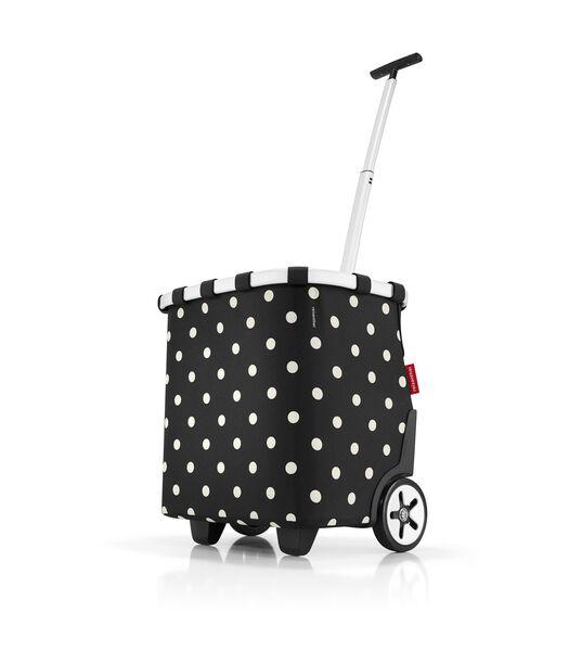 Carrycruiser - Boodschappentrolley - MixedDots Zwart