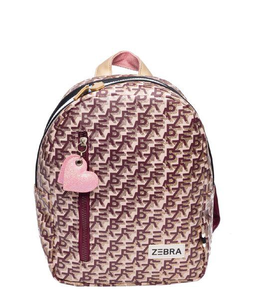 Zebra Trends Girls Rugzak S Zebra Printing pink