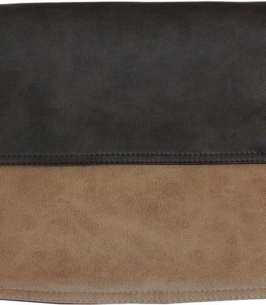 Tafelloper 45x120cm Vintage Beige/Donkerbruin K08/K10