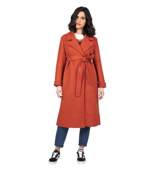 Lange mantel JULIA