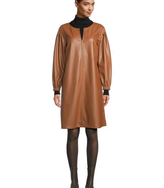 Zakelijke jurk effen